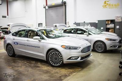 Ford結盟人工智慧公司打造自駕車