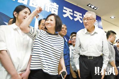 蔡令怡太搶戲 宛如國民黨地下主席