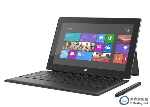 微軟 Surface RT與 Surface Pro平板於 8 月 4 日登台