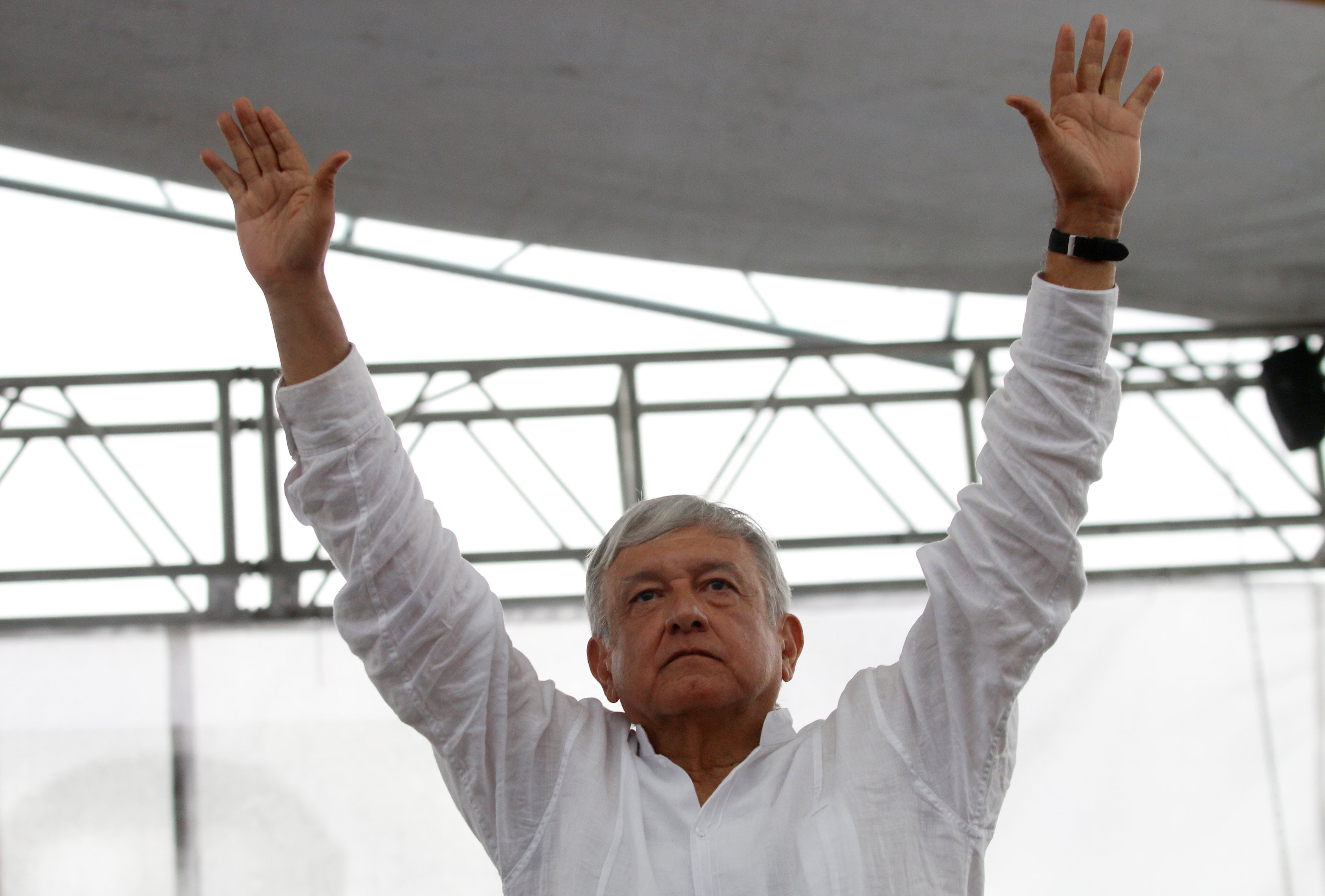 ▲▼墨西哥總統當選人羅培茲(Andrés Manuel López Obrador)將於2018年12月就職。(圖/路透)