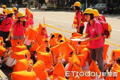 9月21日國家防災日 師生齊演練