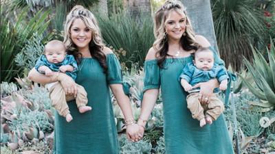 雙胞胎姊妹「自體分裂了2次」  同天懷孕生子...小孩像剪下貼上
