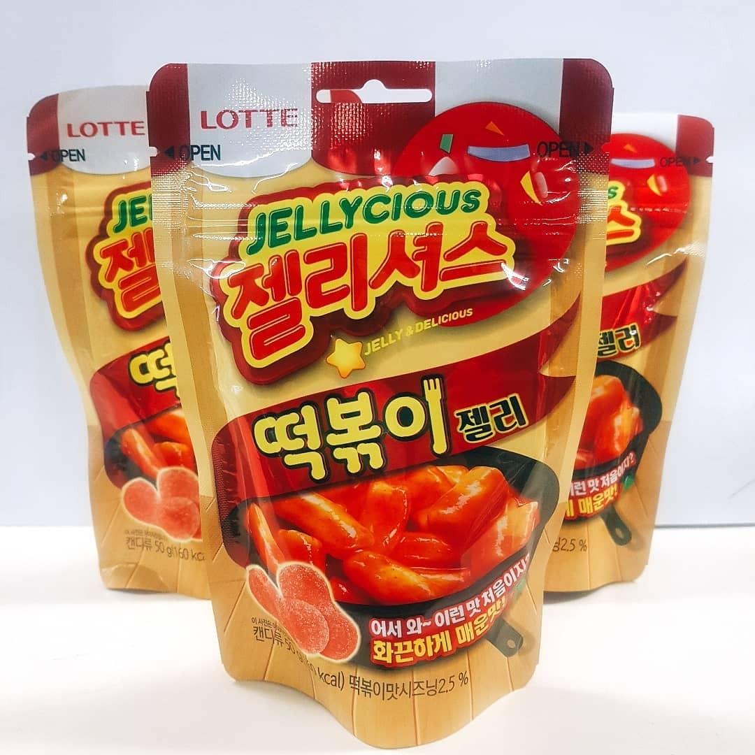 ▲▼南韓樂天推出辣炒年糕口味軟糖(圖/翻攝自Instagram@foodsminingf)