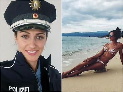 「隆乳禁當警察」不服抗告6年 柏林女終證明:壓胸不會破!