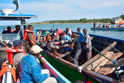 坦尚尼亞渡輪翻覆增至218人死