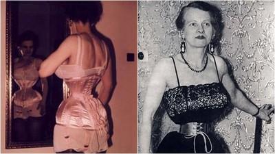 全世界最「腰瘦」女子 33公分蜜蜂腰擠壓內臟 只因丈夫喜歡她這樣
