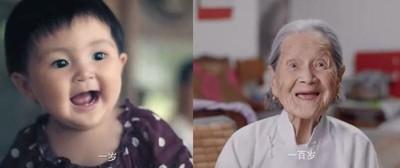 120秒錄下0→100歲女性人生變化