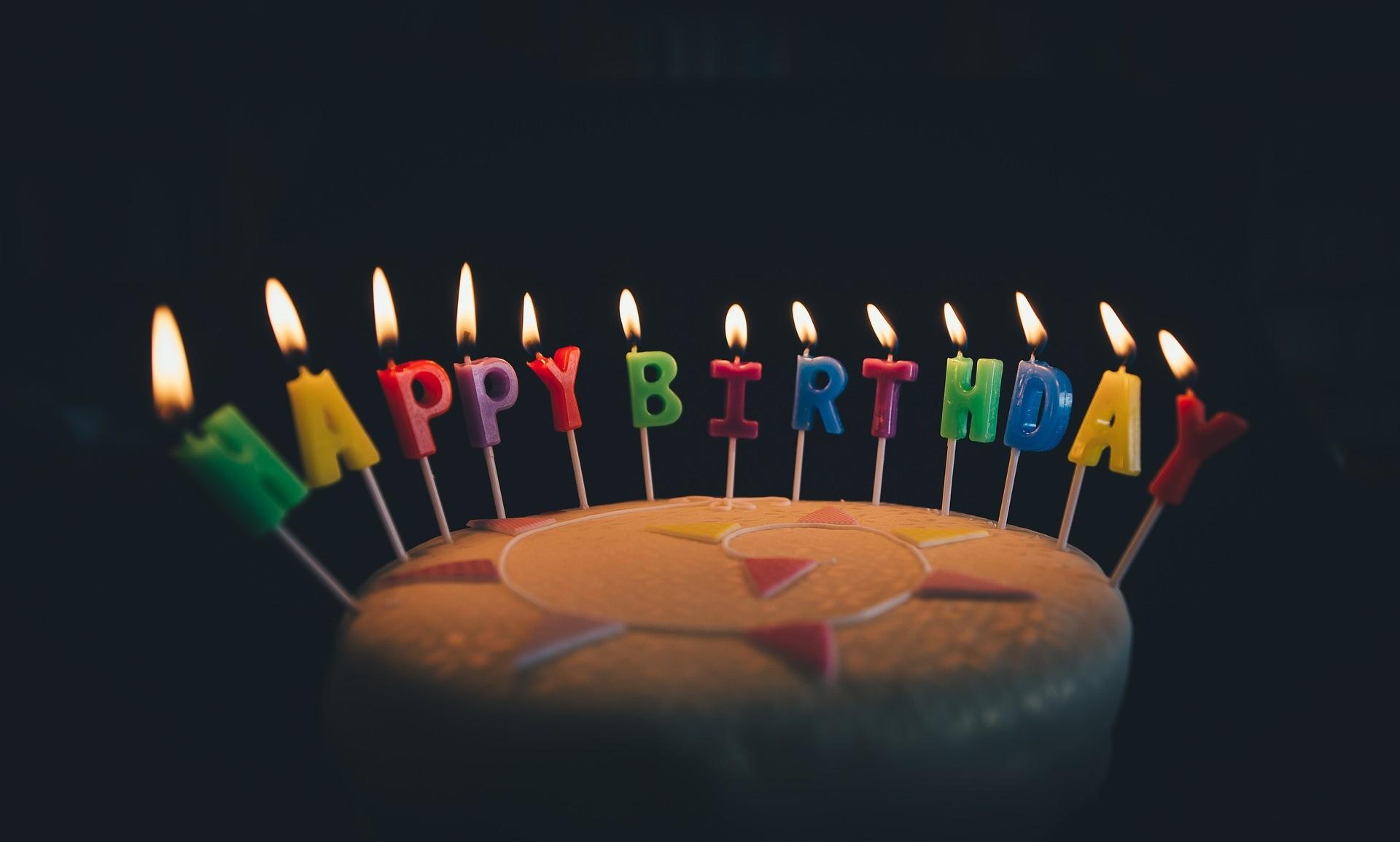 ▲▼生日蛋糕(圖/Pixabay)
