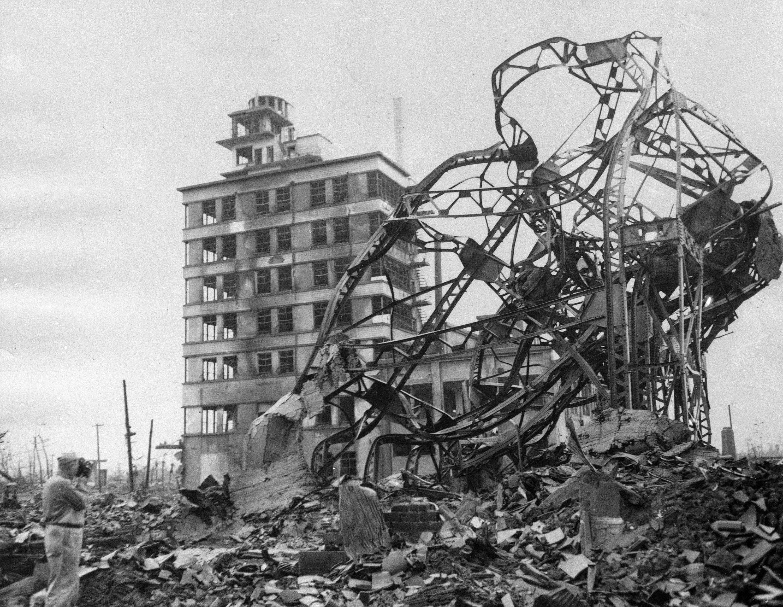 ▲▼ 廣島與長崎原子彈爆炸。(圖/達志影像/美聯社)