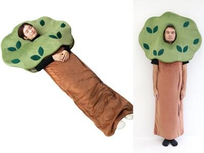 180公分長大樹睡袋 超療癒身心