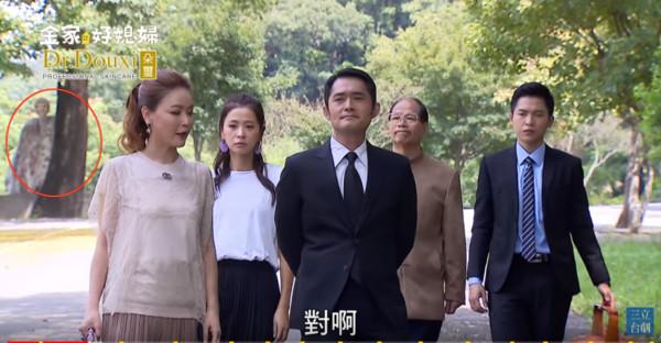 ▲▼《金家》扫墓闹鬼画面疯传(图/翻摄自YouTube/三立台剧)