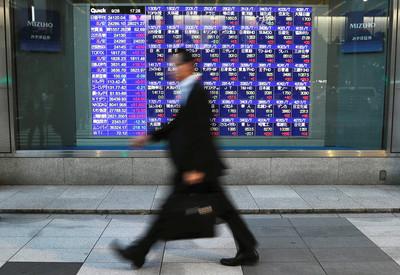 亞股全面上漲!日股漲近2%、港股漲逾300點