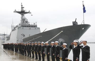 南韓軍艦躲颱風駛入西沙群島12海里