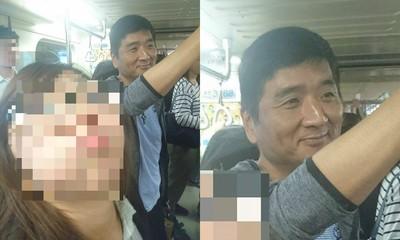 搭捷運同車「李組長」 網笑:小心他皺眉