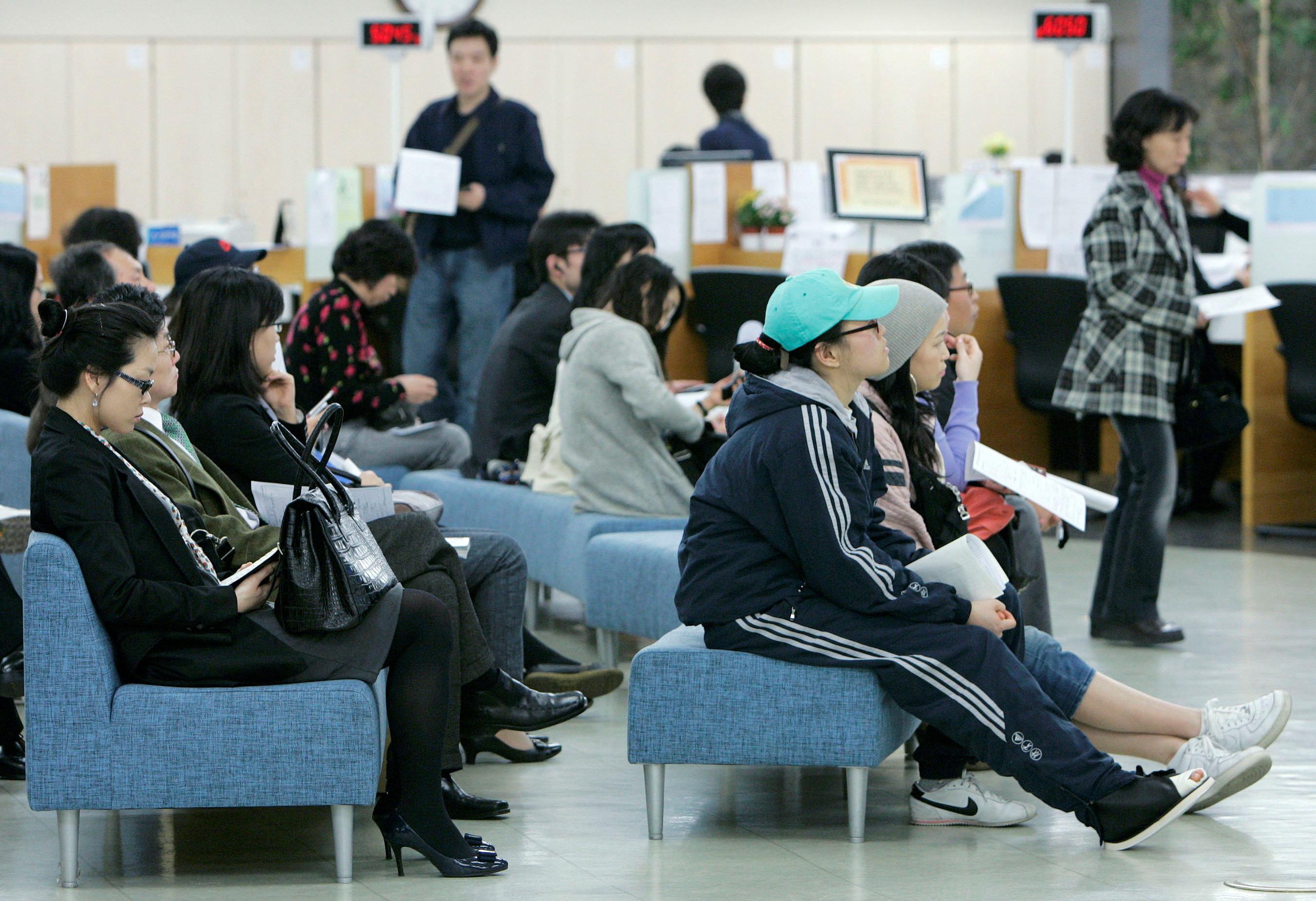 ▲▼南韓失業人口攀1999年來最高 。(圖/路透)
