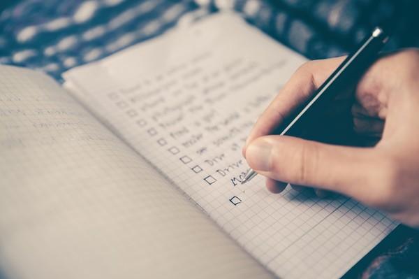 ▲寫筆記,列清單。(圖/取自免費圖庫Pixabay)