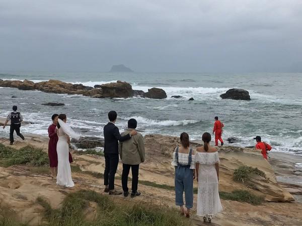 ▲▼韓瑜表示,「鈞琳戀」的婚禮是以悲傷結尾,引起網友廣大討論。(圖/翻攝自韓瑜臉書)