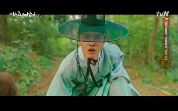 ▲▼ 雷/結婚就要合房! 《百日郎君》D.O.鎖門:今晚不放妳走。(圖/翻攝自tvN)