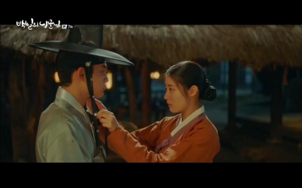 ▲▼元德、洪心感情升溫。(圖/翻攝自tvN)