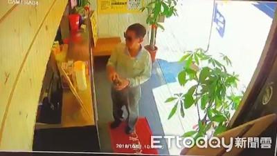 墨鏡伯竊鎮店無價寶「招財貓」
