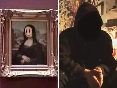 潛入羅浮宮偷掛自己作品「順利展出8天」蒙面藝術家淪為全球通緝犯