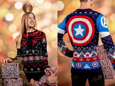 漫威「超級英雄」聖誕毛衣掀爆買