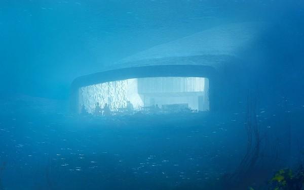 ▲▼ 歐洲第一個水底餐廳「Under」。(圖/翻攝自Snøhetta網站)