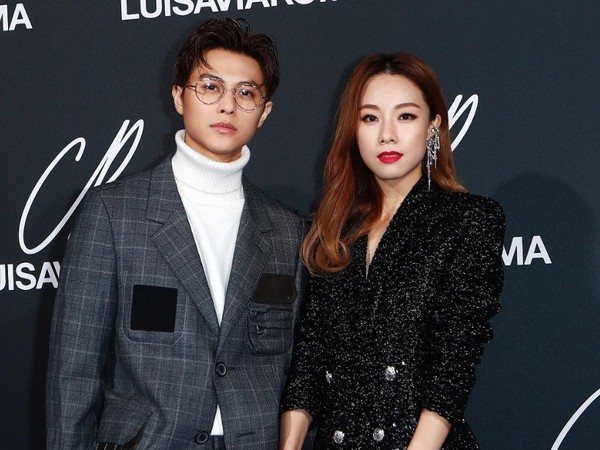 ▲王子、鄧麗欣一起出席巴黎時裝周放閃。(圖/翻攝自王子Instagram)