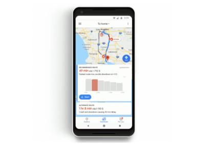 不因通勤心情差!Google地圖推通勤功能