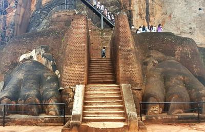 斯里蘭卡 逛世界遺產、海上立釣