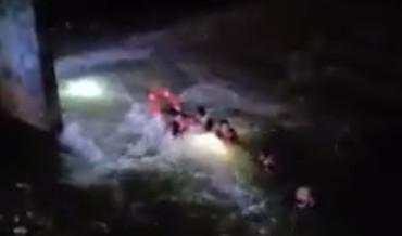 ▲▼17歲少年釣魚失蹤!6消防員下水竟「集體溺斃」最後身影曝光。(圖/翻攝自臉書/Update media IPC)