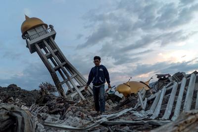 印尼強震奪1763命 5000人仍失蹤