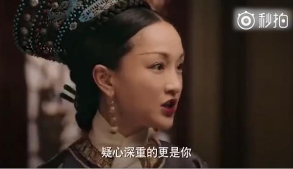 ▲▼《如懿傳》皇后如懿斷髮倒數。(圖/翻攝自微博)