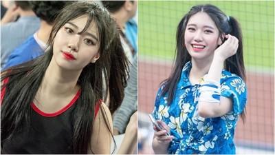 韓版「莎賓娜」啦啦隊員 天使臉孔+美腿激似雪炫...竟只有19歲