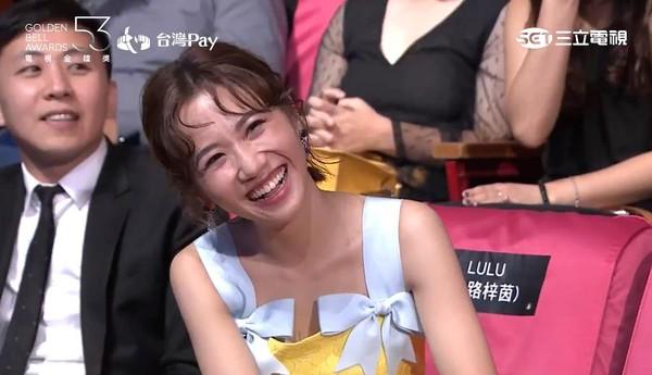 2018第53屆電視金鐘獎頒獎典禮吳宗憲、Lulu、Sandy。(圖/翻攝自YouTube)