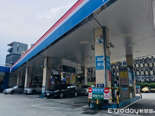 ▲▼汽油,油價,漲價,加油站,凍漲,中油。(圖/記者姜國輝攝)