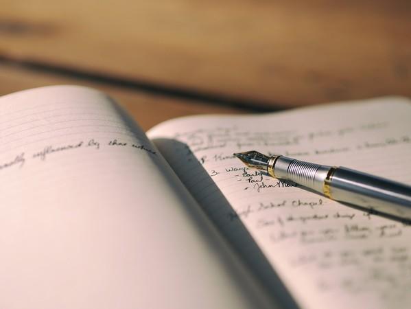 ▲▼紙條,字條,筆記本,手寫,日記,書信。(圖/取自Pixabay)