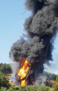 南韓大型儲油廠爆炸 延燒17小時