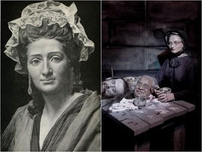 杜莎夫人血腥往事 被逼幫斷頭做面具 蠟像館瀰漫死亡氣息
