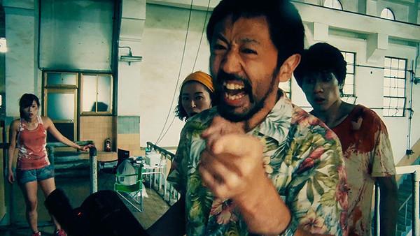 ▲▼《一屍到底》真魚跟台灣觀眾打招呼。(圖/車庫娛樂提供)