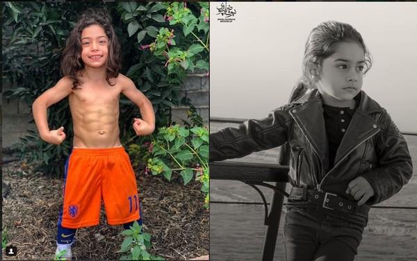 ▲▼伊朗一名年僅5歲的男童,不僅足球、體操、拳擊等運動皆精通,還擁有精實的6塊腹肌,吸引許多網友關注。(圖/翻攝自IG)