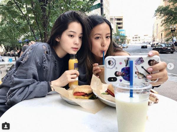 ▲▼歐陽娜娜剪「空氣短瀏海」!(圖/翻攝自Instagram/nanaouyang)
