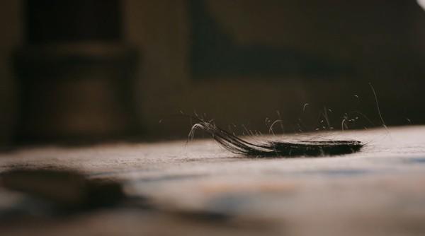 ▲▼如懿切心斷髮。(圖/翻攝自《台灣愛奇藝》)