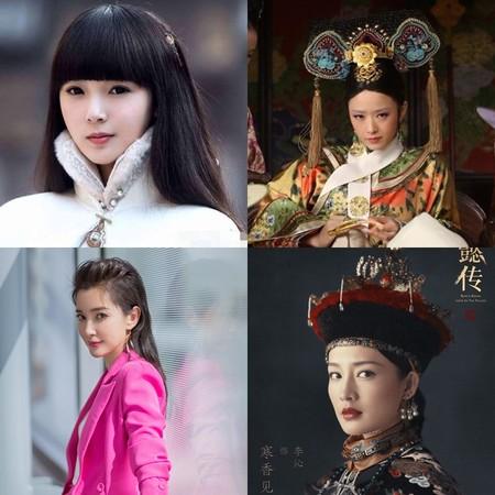 ▲陳瑤、蔣欣、李冰冰、李沁等人,都是傳聞女主角人選。(圖/取自網路、李冰冰微博)