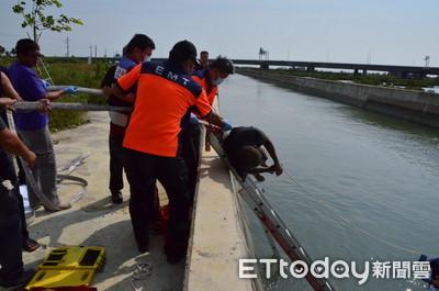 大圳發現浮屍 研判釣客不慎落水