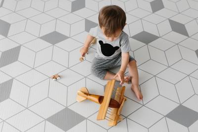 北歐風格幼兒地墊安全又時髦