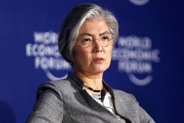 ▲▼ 南韓外交部長康京和。(圖/路透社)