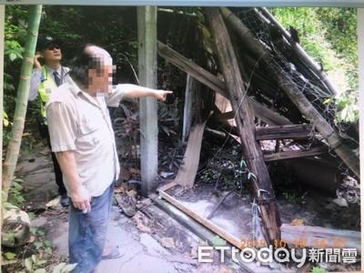 共和社區眷改藏檜木 竊賊聞香來
