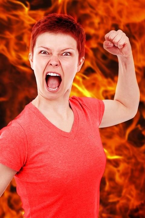 ▲▼ 生氣 憤怒。(圖/取自免費圖庫pixabay)