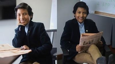 7歲童開銀行!「回收物換現鈔」企業捧合約求合作:感謝老師嘲笑我
